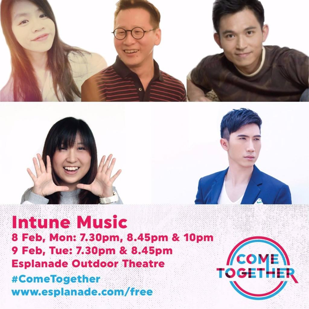 Come Together Esplanade 2016 Intune Music Aaron Matthew Lim