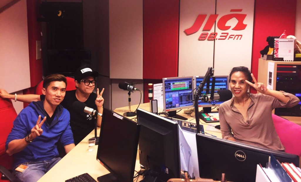 883FM for Voice Of China 2016 Singapore Auditions 26 April 2016 pic 2